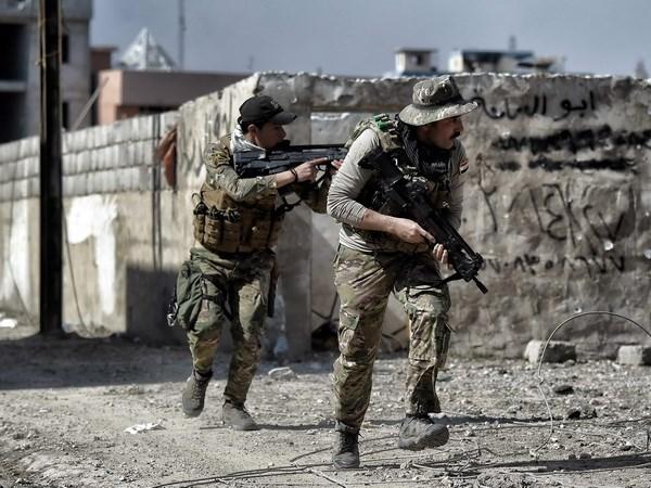 Luc luong Iraq gianh quyen kiem soat mot benh vien cong o Tay Mosul hinh anh 1