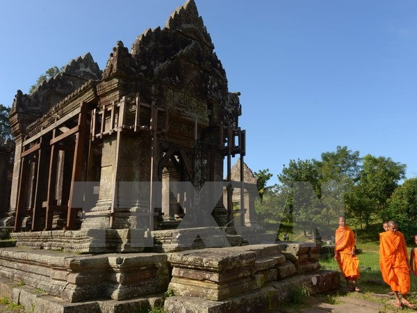 Thai Lan-Campuchia chuan bi tai dam phan ve den Preah Vihear hinh anh 1
