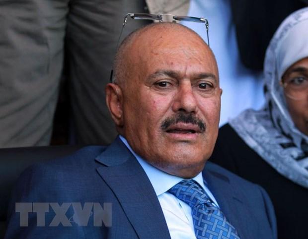 Cuu tong thong Yemen Saleh len ke hoach rut khoi lien minh voi Houthi hinh anh 1