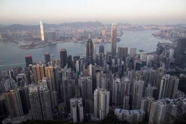 Sau Trung Quoc, Moody's ha xep hang no dai han cua Hong Kong hinh anh 1