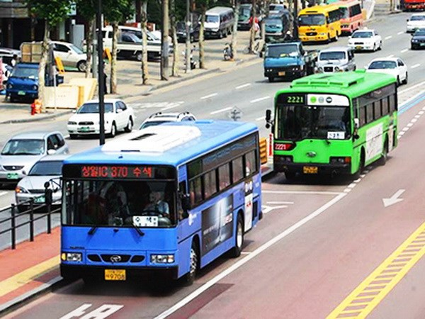 Han Quoc: Mien phi phuong tien cong cong tai Seoul do o nhiem hinh anh 1