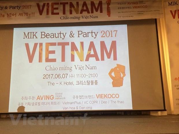 MIK Beauty & Party Vietnam: Kham pha nhung xu huong lam dep moi hinh anh 1