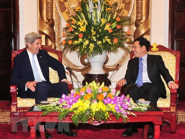 Bo truong Ngoai giao tiep cuu Ngoai truong Hoa Ky John Kerry hinh anh 1
