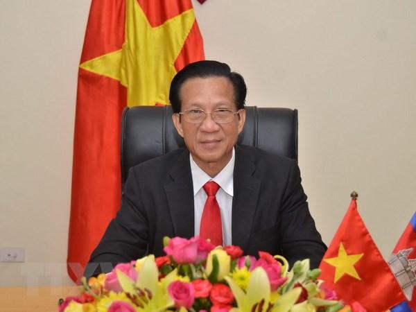 Dai su Thach Du: Viet Nam coi trong phat trien quan he voi Campuchia hinh anh 1