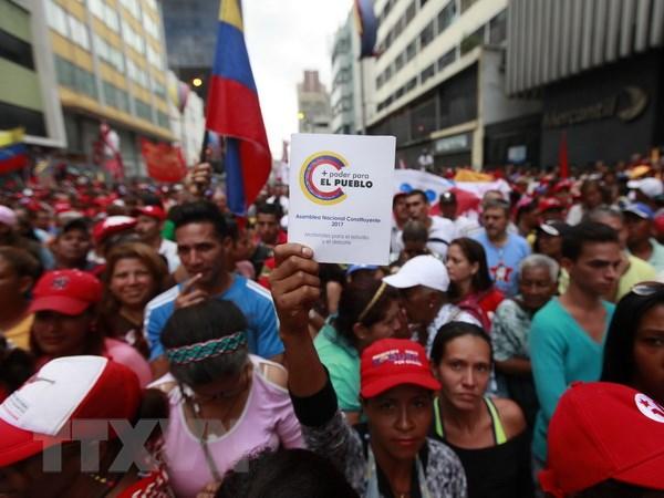 Tong thong Nga bay to su ung ho doi voi chinh phu Venezuela hinh anh 1