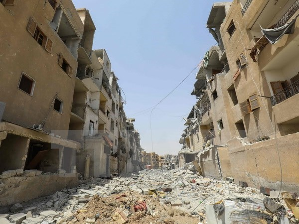 Syria to cao linh My dung photpho trang tan cong thuong dan o Raqqa hinh anh 1