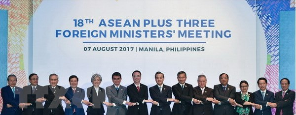 AMM 50: ASEAN+3 nhat tri tang cuong hop tac ve tai chinh hinh anh 1