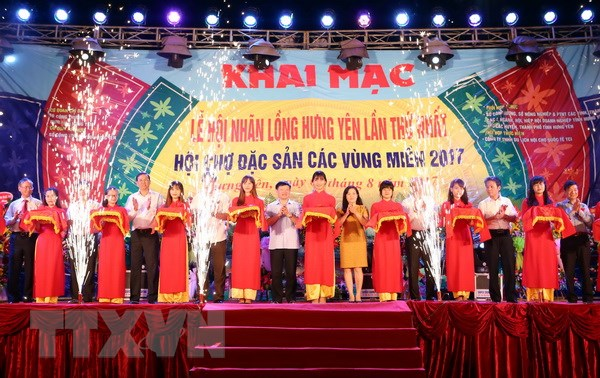 Hung Yen lan dau tien to chuc le hoi ton vinh nhan long hinh anh 2