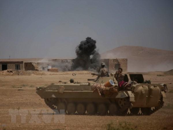 Bon van quan Iraq siet chat vong vay IS trong chien dich Tal Afar hinh anh 1