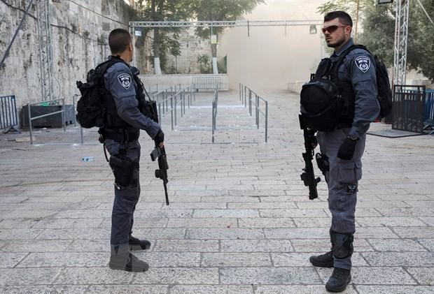Israel chan dung am muu tan cong tai thanh dia Jerusalem hinh anh 1