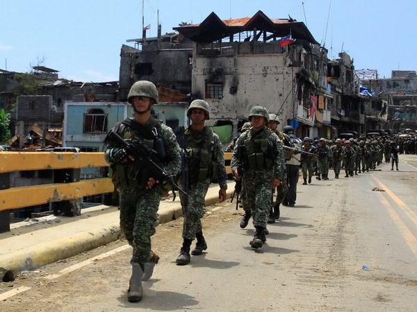 Trung Quoc vien tro vu khi cho Philippines de the hien su hop tac hinh anh 1