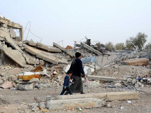 Nga canh bao tham hoa nhan dao tai thanh pho Raqqa cua Syria hinh anh 1