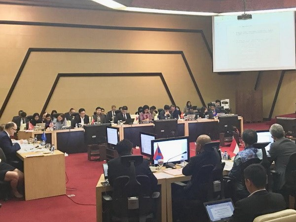 ASEAN-EU thuc day hop tac an ninh truyen thong va phi truyen thong hinh anh 1