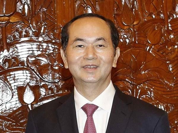 Chu tich nuoc Tran Dai Quang tra loi phong van bao chi An Do hinh anh 1