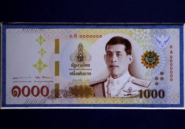 Thai Lan sap luu hanh tien giay moi in chan dung Tan Vuong Rama X hinh anh 1