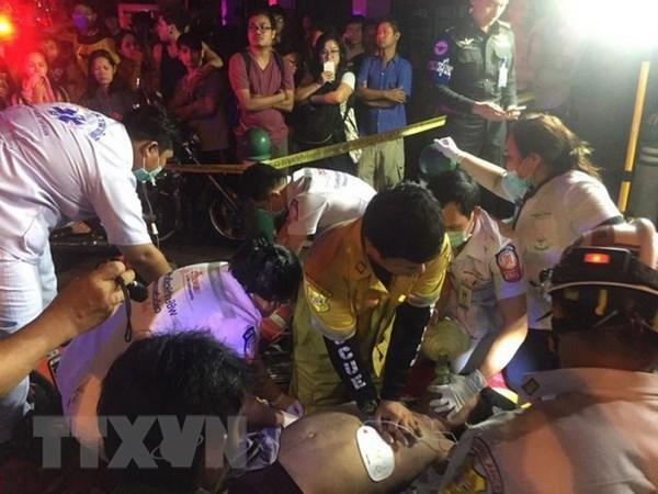 Danh sach 13 nguoi Viet bi thuong trong vu chay chung cu tai Thai Lan hinh anh 1