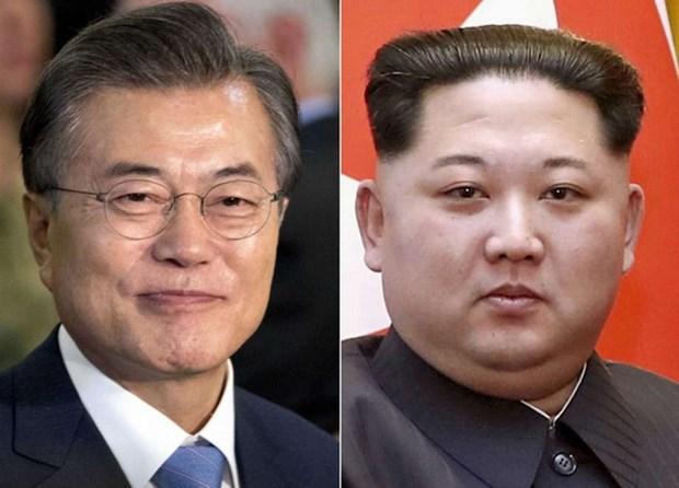 Ong Kim Jong-un se di qua gioi tuyen de gap Tong thong Han Quoc hinh anh 1