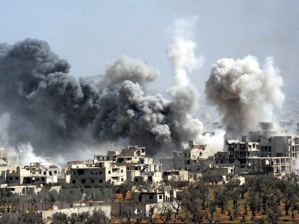 Nga: Thong tin ve vu tan cong khi doc o Syria la gia mao hinh anh 1