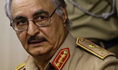 Chi huy quan doi quoc gia Libya Khalifa Haftar da qua doi tai Phap hinh anh 1