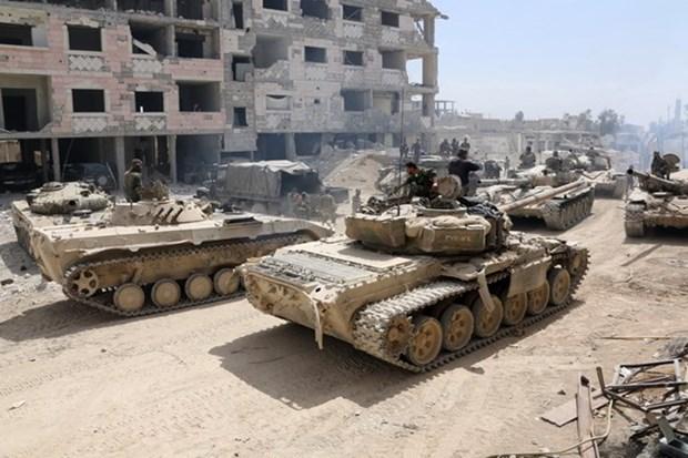 Nga chi trich nhung buoc chuan bi quan su nguy hiem nham vao Syria hinh anh 1