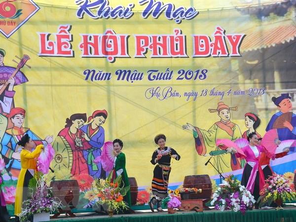 Le hoi Phu Day nam 2018: Bao ton phat huy gia tri tin nguong tho Mau hinh anh 1