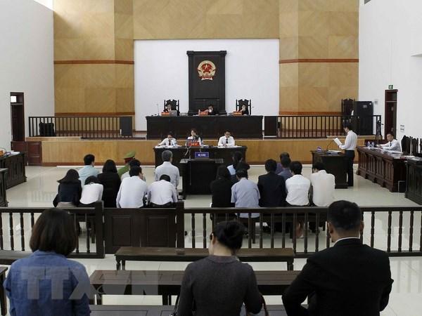 Vu Ha Van Tham: Cac luat su trinh bay quan diem xin giam hinh phat hinh anh 1
