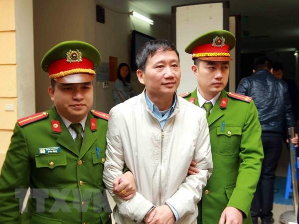 Chuan bi xet xu phuc tham vu an Trinh Xuan Thanh va dong pham hinh anh 1