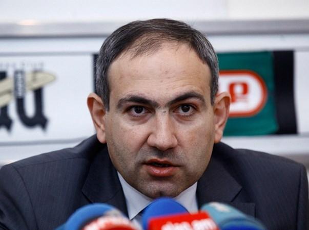 Armenia: Phe doi lap de cu ong Nikol Pashinyan vao vi tri Thu tuong hinh anh 1
