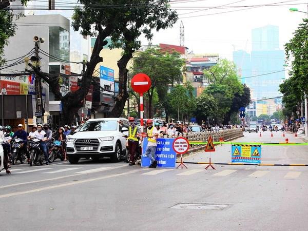 Bi thu Thanh uy Ha Noi kiem tra tien do du an duong sat do thi hinh anh 1