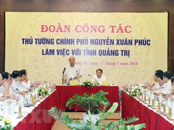 Thu tuong de nghi Quang Tri chu trong hon den cong nghiep, dich vu hinh anh 1