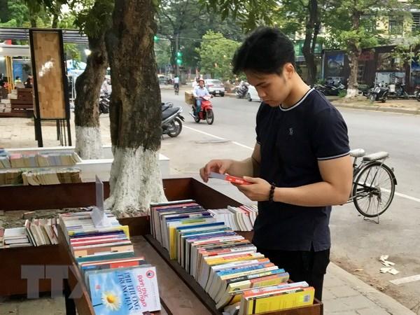 Khai mac Ngay hoi ban quyen sach Viet Nam-Nhat Ban 2018 hinh anh 1