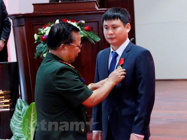 Lao tang Huan chuong Lao dong cho lien doanh Viettel hinh anh 1