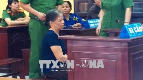 Thanh Hoa: Ba noi sat hai chau gai bi tuyen an 13 nam tu giam hinh anh 1