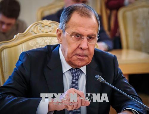 Ngoai truong Nga Sergei Lavrov se som tham Trieu Tien hinh anh 1