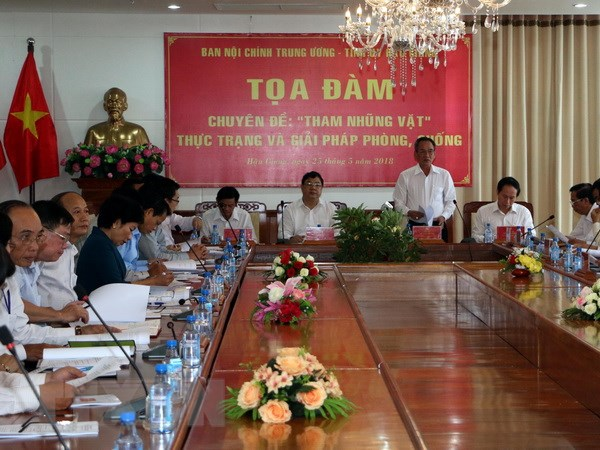 Ban Noi chinh: Chua co khai niem chinh thong ve nan tham nhung vat hinh anh 1