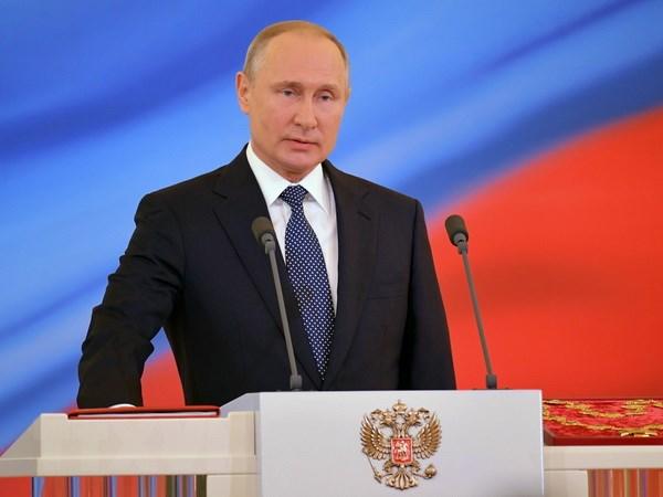 Tong thong Putin: Nga muon EU thong nhat va thinh vuong hinh anh 1