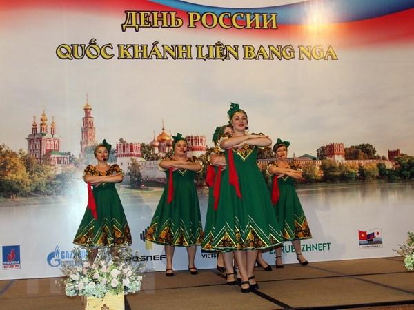 Le ky niem Quoc khanh Lien bang Nga tai Thanh pho Ho Chi Minh hinh anh 1