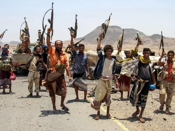 Lien quan do Saudi Arabia dung dau bat dau tan cong Hodeida o Yemen hinh anh 1