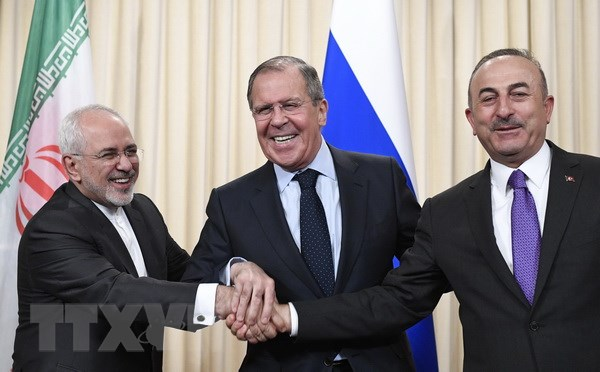 Nga, Iran va Tho Nhi Ky nhat tri so bo ve Uy ban hien phap Syria hinh anh 1