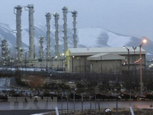 Iran tai khoi dong nha may san xuat nguyen lieu lam giau urani hinh anh 1