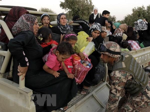 Israel khong cho phep nguoi ti nan Syria vuot qua bien gioi hinh anh 1
