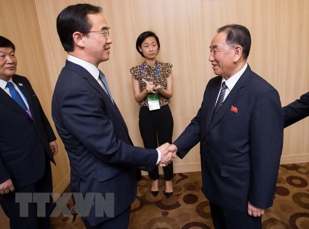 Han Quoc: Trieu Tien keu goi day nhanh dam phan lien Trieu hinh anh 1