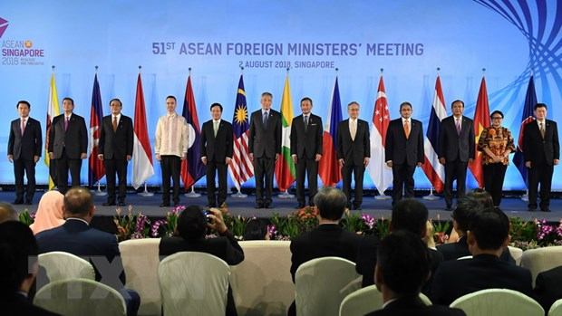 Hoi nghi Bo truong Ngoai giao ASEAN voi cac Doi tac Doi thoai hinh anh 1