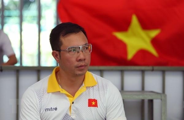 Hoang Xuan Vinh ra mat trong noi dung moi cua ASIAD 2018 hinh anh 1