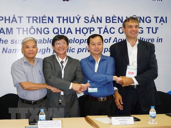 Hon 1,7 trieu USD ho tro doanh nghiep thuy san Dong bang song Cuu Long hinh anh 1