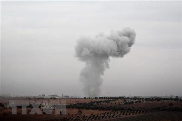 Syria: May bay Israel tan cong cac vi tri quan su tai Hama hinh anh 1