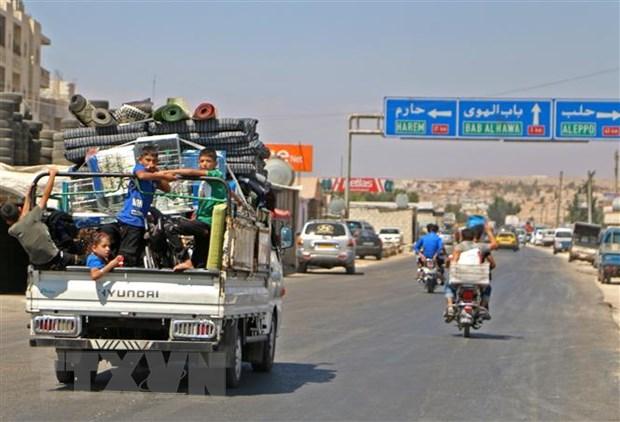 Dac phai vien LHQ de xuat thoi han chot de phien quan rut khoi Idlib hinh anh 1