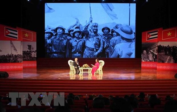 Ky niem 45 nam lanh tu Fidel Castro tham vung giai phong mien Nam hinh anh 1