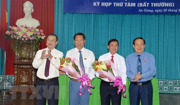 Bau bo sung Pho Chu tich Uy ban Nhan dan tinh An Giang hinh anh 1