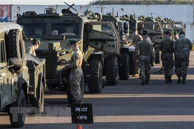 50.000 binh sy tham gia tap tran Trident Juncture 2018 cua NATO hinh anh 1